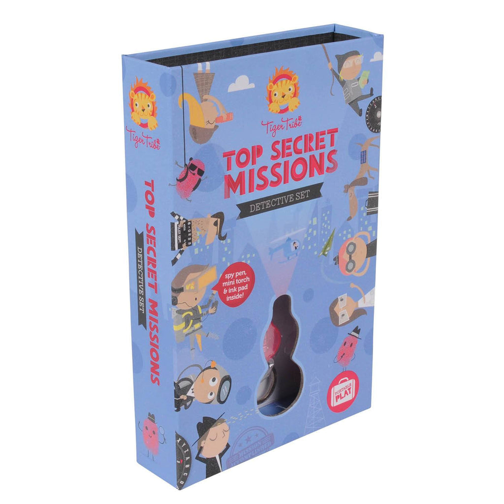 Top Secret Missions Detective Kit from Tiger Tribe - shop at littlewhimsy NZ