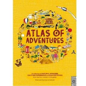 LOVE THIS! Atlas of Adventures from Penguin Books - shop at littlewhimsy NZ