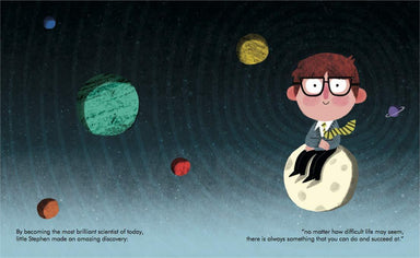 LOVE THIS! Little People, Big Dreams - Stephen Hawking from Penguin Books - shop at littlewhimsy NZ
