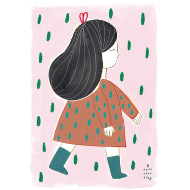 LOVE THIS! Marta Abad Blay Irene Print from Marta Abad Blay - shop at littlewhimsy NZ