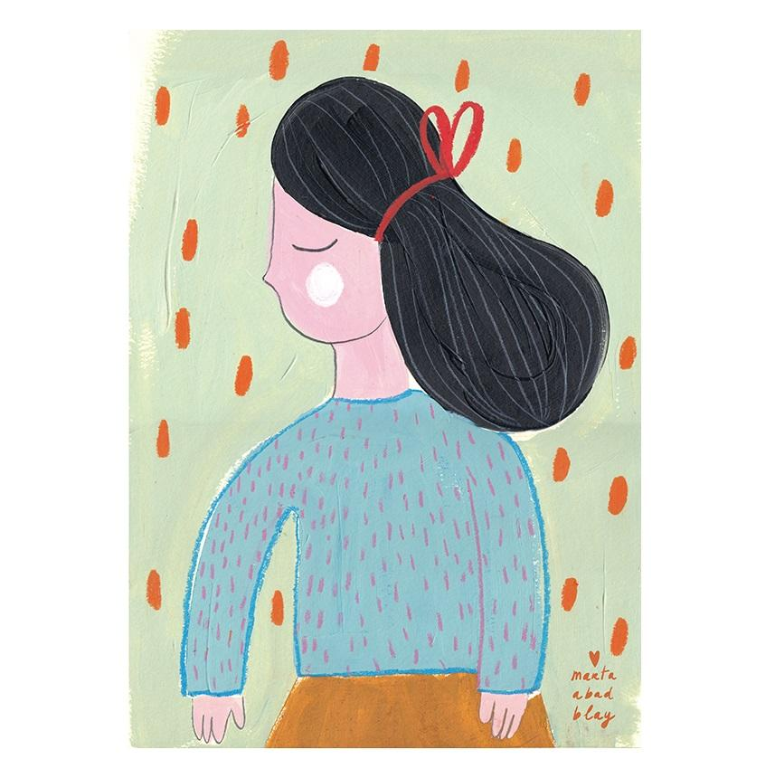 LOVE THIS! Marta Abad Blay What Penny Wants Poster from Marta Abad Blay - shop at littlewhimsy NZ