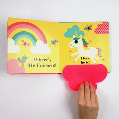 LOVE THIS! Where's Mr Unicorn? (Felt Flaps) from Penguin Books - shop at littlewhimsy NZ