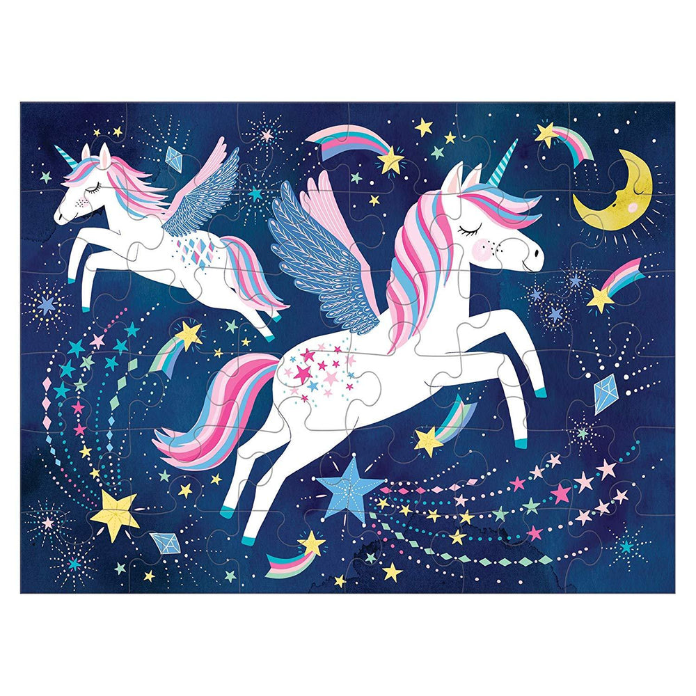 LOVE THIS! Unicorn Magic Puzzle to Go from Mud Puppy - shop at littlewhimsy NZ