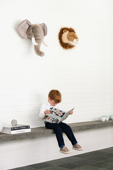 LOVE THIS! Cesar the Lion - Wild & Soft Animal Head Large from Wild & Soft - shop at littlewhimsy NZ