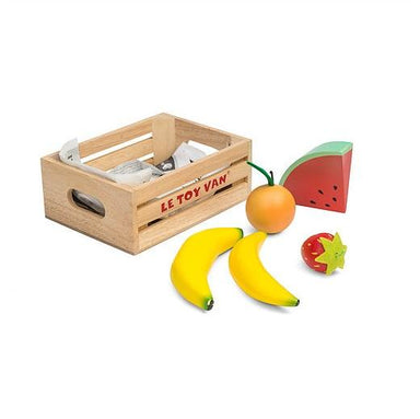 LOVE THIS! Le Toy Van Honeybake Smoothie Fruits Five-A-Day Crate from Le Toy Van - shop at littlewhimsy NZ