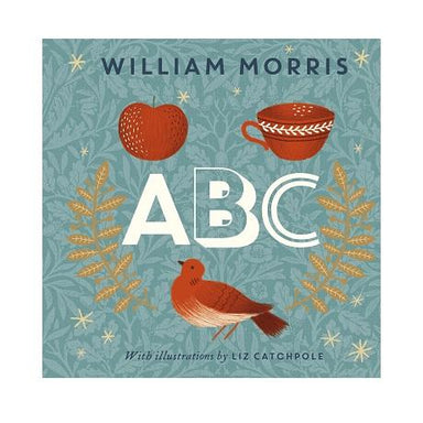 LOVE THIS! ABC - William Morris from Penguin Books - shop at littlewhimsy NZ