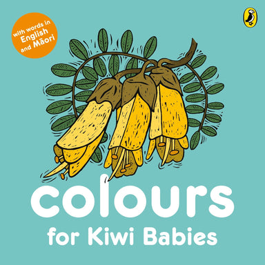 LOVE THIS! Colours for Kiwi Babies from Penguin Books - shop at littlewhimsy NZ