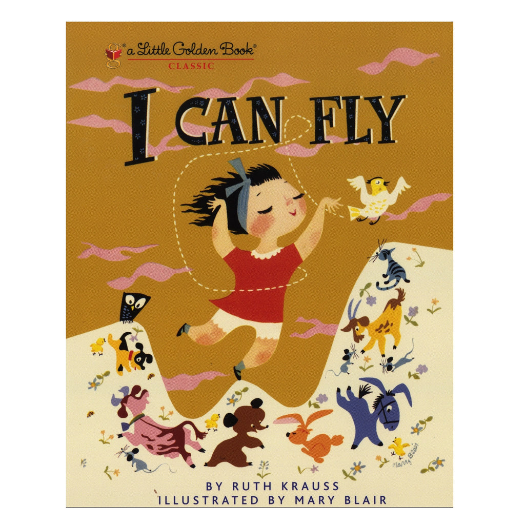 LOVE THIS! I Can Fly - Little Golden Book from Penguin Books - shop at littlewhimsy NZ