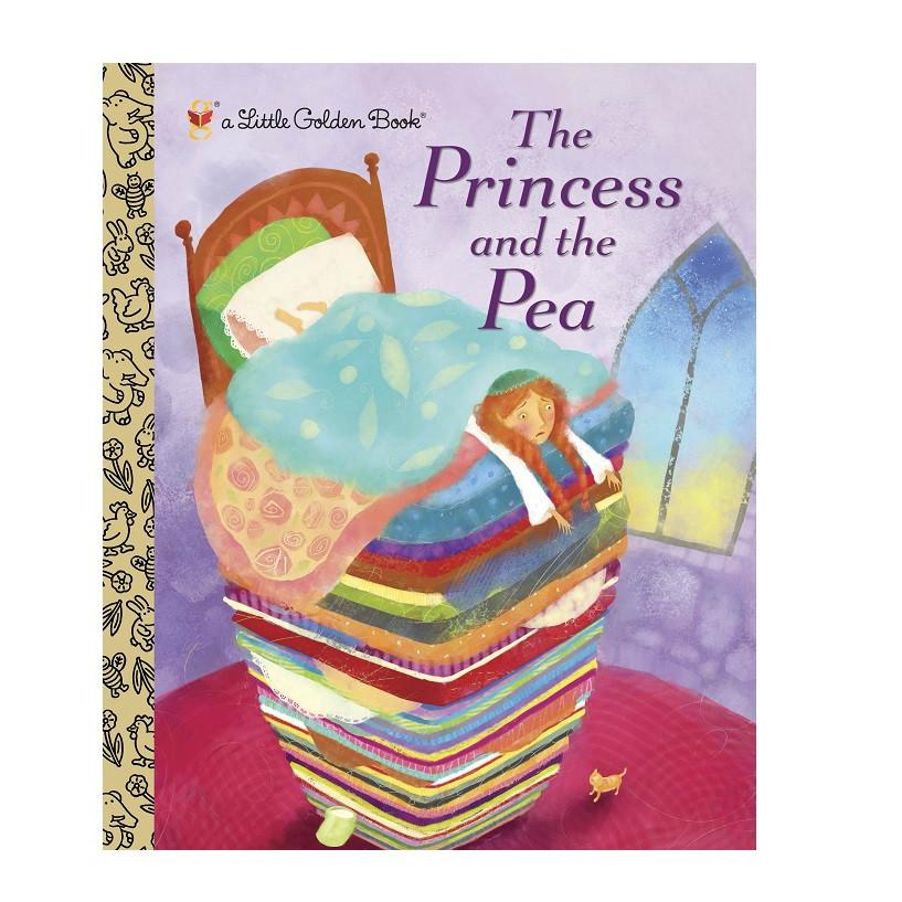 LOVE THIS! The Princess and the Pea - Little Golden Book from Penguin Books - shop at littlewhimsy NZ