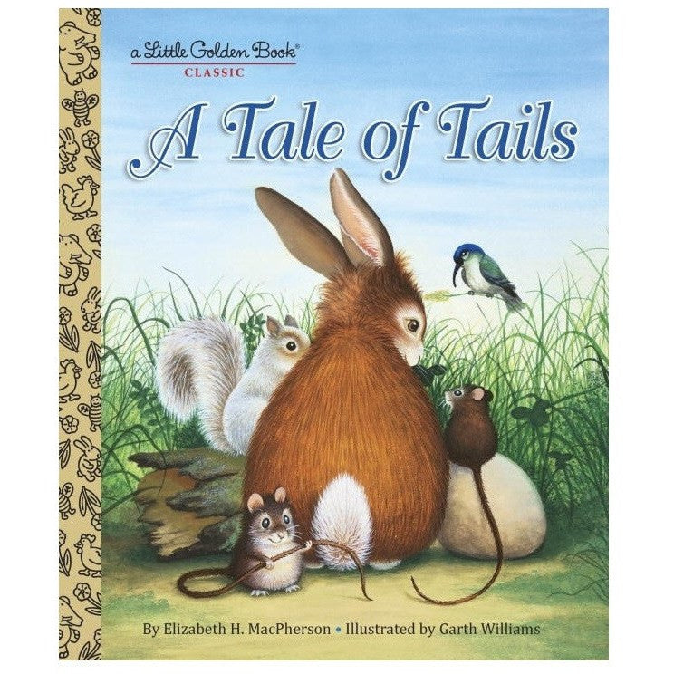 LOVE THIS! A Tale of Tails - Little Golden Book from Penguin Books - shop at littlewhimsy NZ