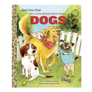 LOVE THIS! Book About Dogs - Little Golden Book from Penguin Books - shop at littlewhimsy NZ