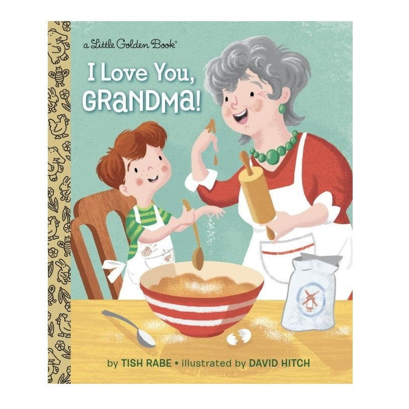 LOVE THIS! I Love You, Grandma - Little Golden Book from Penguin Books - shop at littlewhimsy NZ
