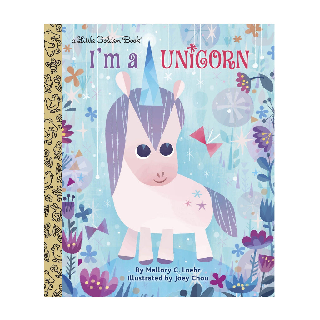 LOVE THIS! I'm a Unicorn - Little Golden Book from Penguin Books - shop at littlewhimsy NZ