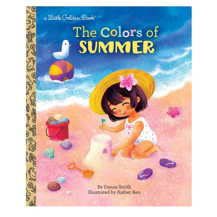LOVE THIS! Little Golden Book - The Colors of Summer from Penguin Books - shop at littlewhimsy NZ