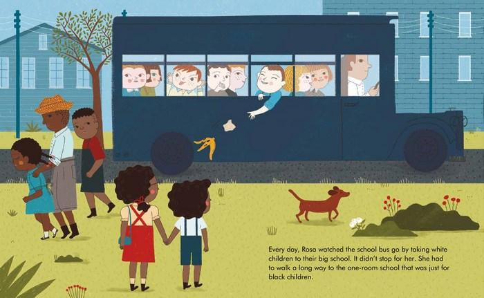LOVE THIS! Little People, Big Dreams - Rosa Parks from Penguin Books - shop at littlewhimsy NZ