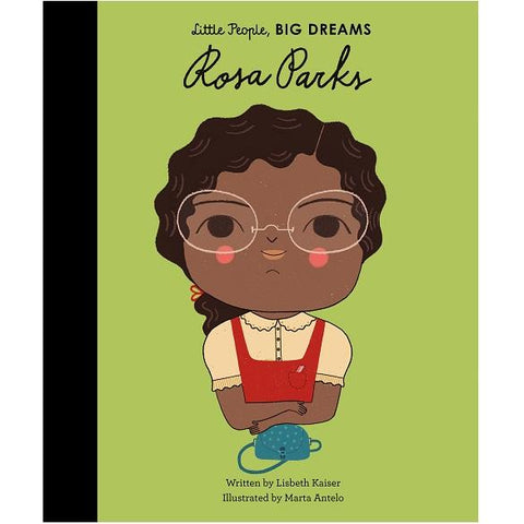LOVE THIS! Rosa Parks (Little People, Big Dreams) from Penguin Books - shop at littlewhimsy NZ