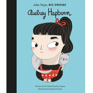 LOVE THIS! Little People, Big Dreams - Audrey Hepburn from Penguin Books - shop at littlewhimsy NZ