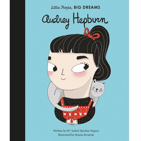 LOVE THIS! Audrey Hepburn (Little People, Big Dreams) from Penguin Books - shop at littlewhimsy NZ