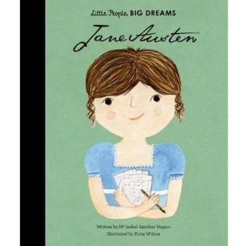 LOVE THIS! Little People, Big Dreams - Jane Austen from Penguin Books - shop at littlewhimsy NZ