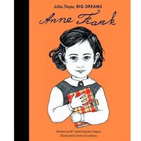 LOVE THIS! Anne Frank (Little People, Big Dreams) from Penguin Books - shop at littlewhimsy NZ