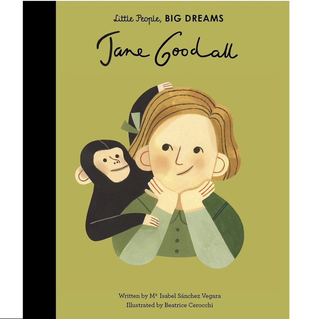 LOVE THIS! Little People, Big Dreams - Jane Goodall from Penguin Books - shop at littlewhimsy NZ