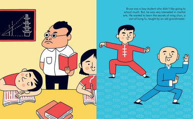 LOVE THIS! Little People, Big Dreams - Bruce Lee from Penguin Books - shop at littlewhimsy NZ