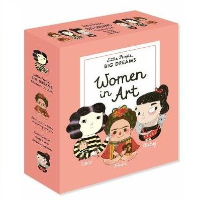 LOVE THIS! Little People, Big Dreams - Women in Art Box Set from Penguin Books - shop at littlewhimsy NZ
