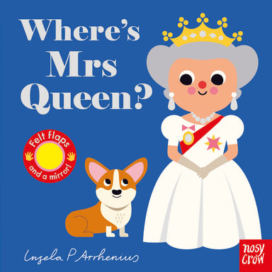 Where's Mrs Queen? (Felt Flaps)