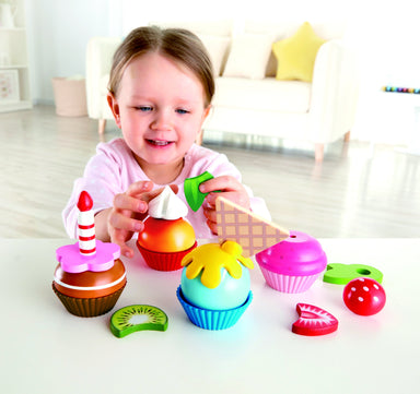 LOVE THIS! Hape Cupcakes from Hape - shop at littlewhimsy NZ