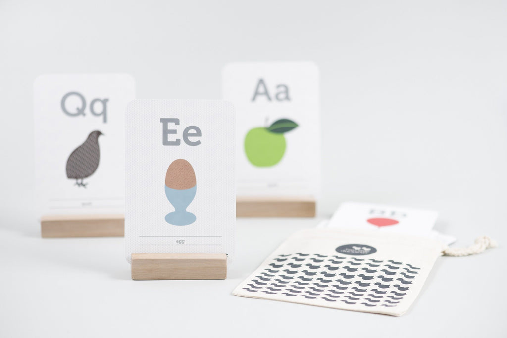 LOVE THIS! Flash Cards - ABC Alphabet Cards from Two Little Ducklings - shop at littlewhimsy NZ