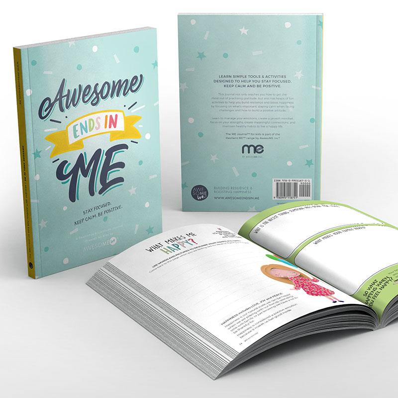 LOVE THIS! Resilient ME™ Gratitude Journal for Kids from Awesome Inc - shop at littlewhimsy NZ