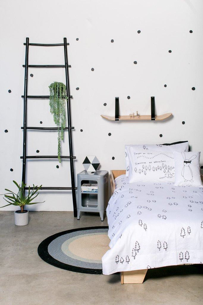 LOVE THIS! Wall Decals - Hand Painted Polka Dots from 100 Percent Heart - shop at littlewhimsy NZ