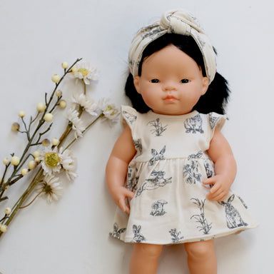 Almond Burrowers Dress for 38cm Doll