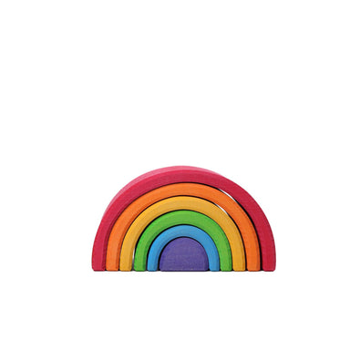 LOVE THIS! Grimm's Rainbow Tunnel Medium from Grimm's - shop at littlewhimsy NZ