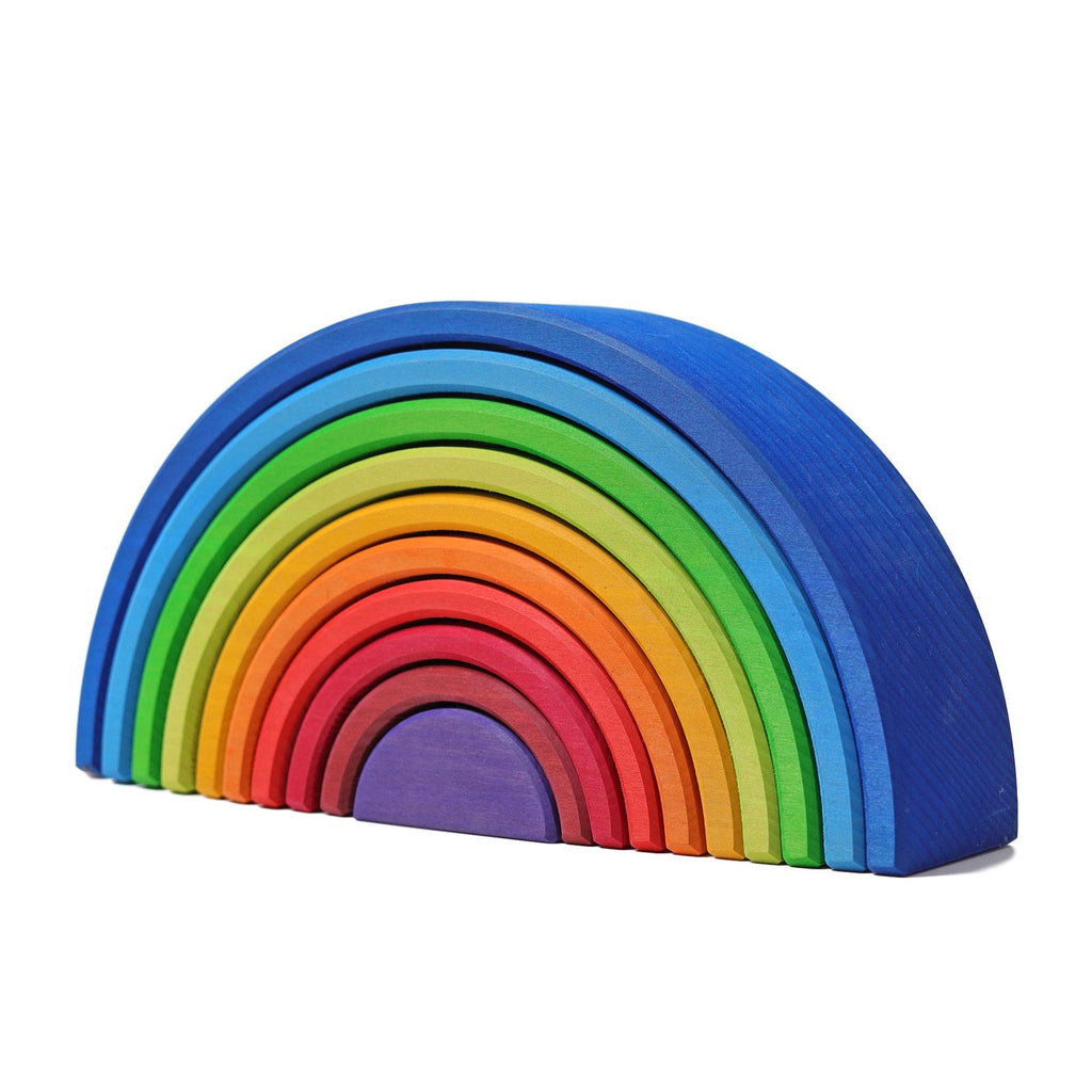 LOVE THIS! Grimm's Extra Large Rainbow Tunnel Sunset from Grimm's - shop at littlewhimsy NZ