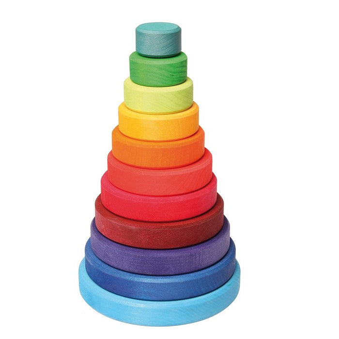 LOVE THIS! Grimm's Bright Conical Tower Large from Grimm's - shop at littlewhimsy NZ