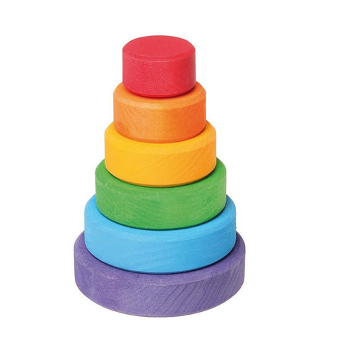 Grimm's Bright Conical Tower Small - little whimsy - 1