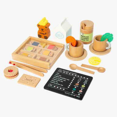 LOVE THIS! Iconic Toy - Tea Set Extension Kit from Make Me Iconic - shop at littlewhimsy NZ
