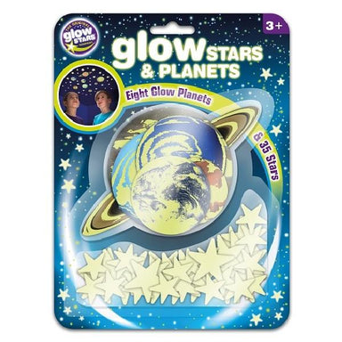 LOVE THIS! Glow Stars and Planets from The Original Glowstars - shop at littlewhimsy NZ