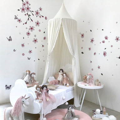 LOVE THIS! Spinkie Botanical Garden Canopy in BABY'S BREATH from Spinkie - shop at littlewhimsy NZ