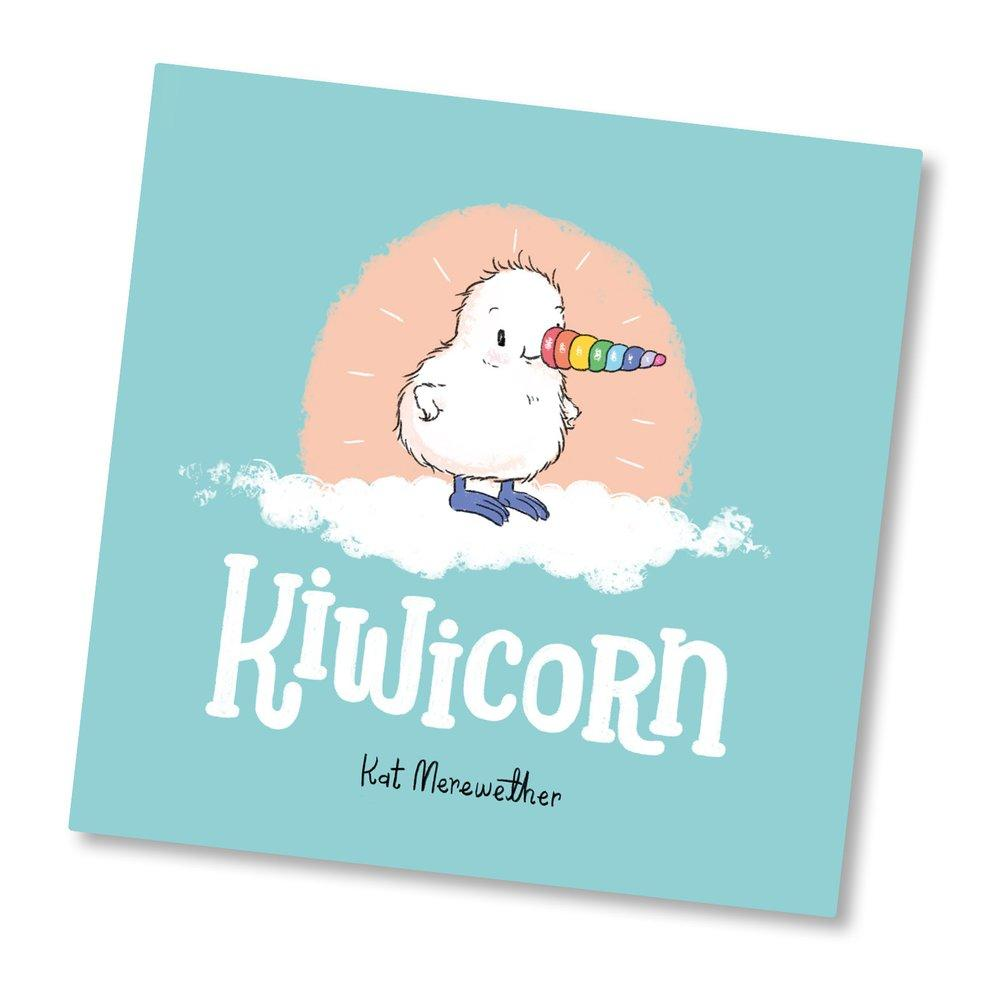 LOVE THIS! Kiwicorn! from Illustrated Publishing - shop at littlewhimsy NZ
