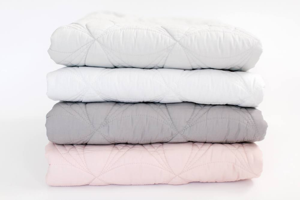 LOVE THIS! Bonne Mere - King Single Bedspread Quilt and Pillow Set - Mist from Bonne Mere - shop at littlewhimsy NZ