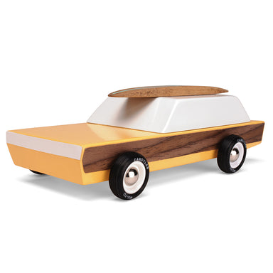 Candylab - Woodie Redux Car Yellow