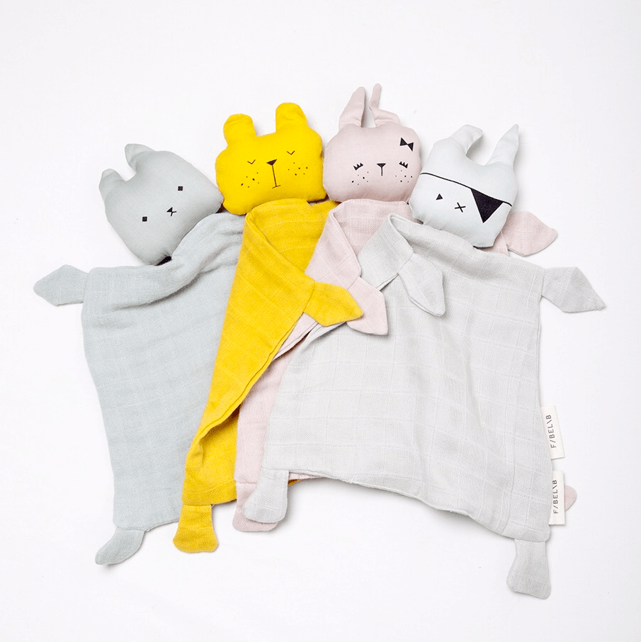 LOVE THIS! Fabelab Animal Cuddle Cute Bunny from Fabelab - shop at littlewhimsy NZ