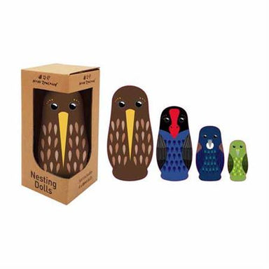 LOVE THIS! NZ Nesting Dolls Birds from NZ Gift - shop at littlewhimsy NZ