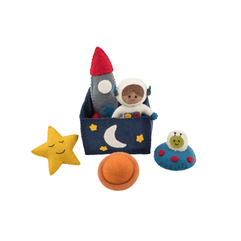 LOVE THIS! Space Play Set from Pashom - shop at littlewhimsy NZ