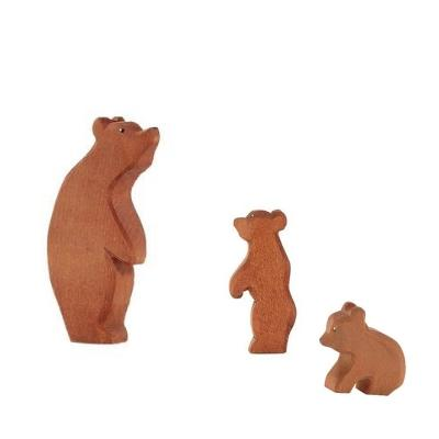 LOVE THIS! Ostheimer Bear Small Sitting from Ostheimer - shop at littlewhimsy NZ