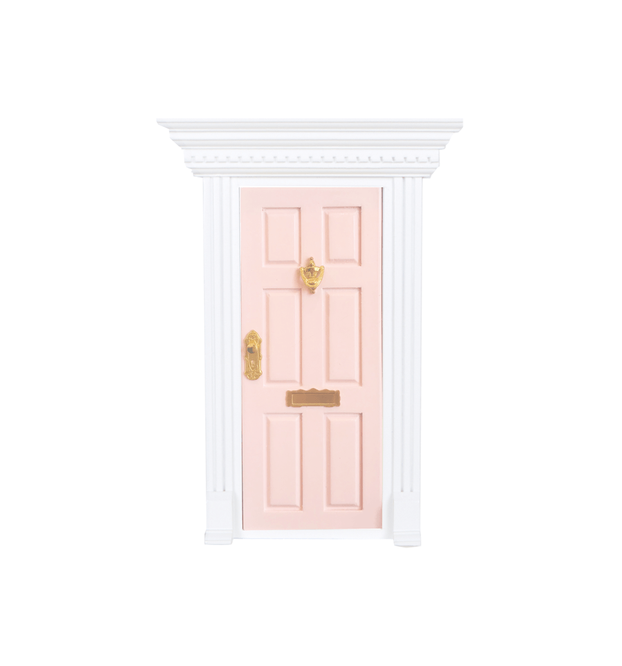 LOVE THIS! My Wee Fairy Door Coral Pink from My Wee Fairy Door - shop at littlewhimsy NZ