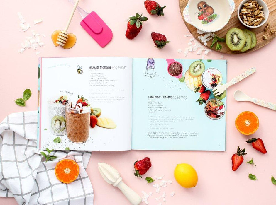 LOVE THIS! Kuwi's Kitchen - Kiwi Kids' Cookbook from Illustrated Publishing - shop at littlewhimsy NZ