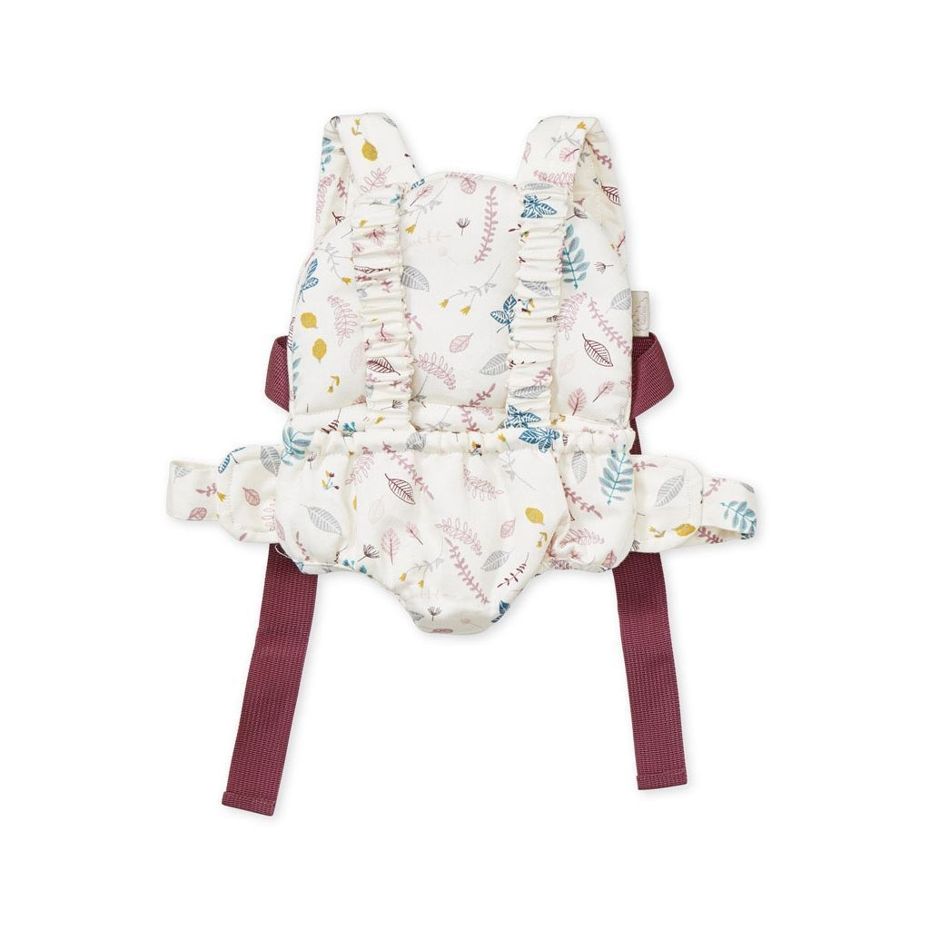 LOVE THIS! Cam Cam Doll's Carrier - Pressed Leaves Rose from CamCam - shop at littlewhimsy NZ